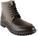 UNIONBAY Brown Jackson Lace-Up Boot