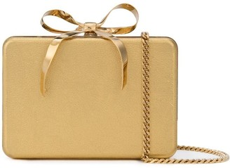 Oscar de la Renta present box clutch
