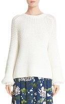 ADAM by Adam Lippes Women's Cotton Blend Knit Sweater