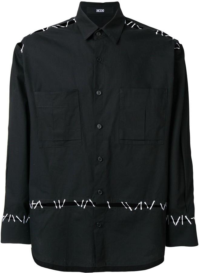 Kokon To Zai Pin Embroidery Shirt