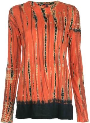 Proenza Schouler tie-dye longsleeved T-shirt