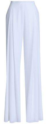 Emilia Wickstead Cloque Wide-leg Pants