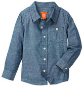 Joe Fresh Chambray Shirt (Toddler & Little Boys)