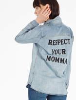 Lucky Brand Soul2soul Respect Yo Momma Shirt