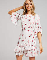 Dotti Charlotte Wrap Frill Hem Dress