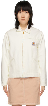 Carhartt Work In Progress White OG Detroit Jacket