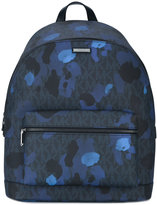 Michael Kors paint splash backpack - men - Cotton/Polyester/Canvas - One Size