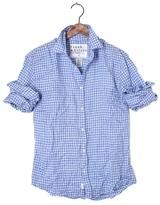 Frank And Eileen Mens Paul Linen Check Shirt