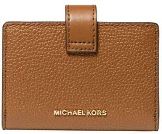 Michael Kors Small Tab Leather Card Case