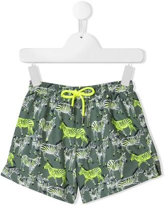 Sunuva Zebra Print Swim Shorts