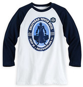 Disney Hollywood Tower Hotel Baseball Tee for Men