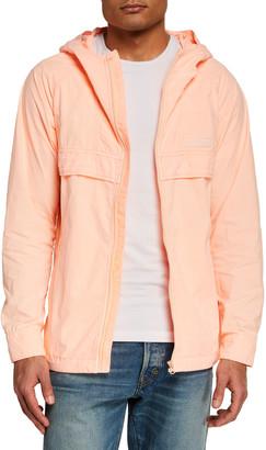 Scotch & Soda Men's Lightweight Garment-Dyed Nylon Jacket