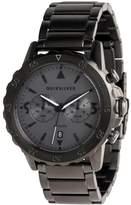 Quiksilver Mens Kombat 43mm Stainless Steel Watch Grey