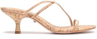 Schutz Cork Sandals