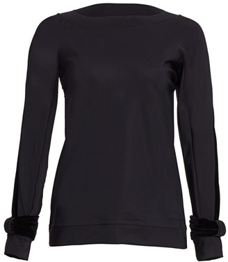 Chiara Boni Moira Long-Sleeve Top