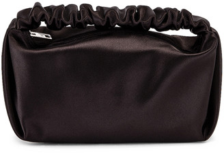 Alexander Wang Scrunchie Mini Bag in Black   FWRD