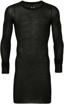 Rick Owens long sleeve T-shirt - men - Silk/Viscose - M