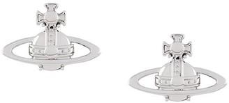 Vivienne Westwood Logo Stud Earrings
