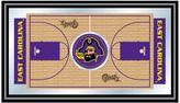 East Carolina Pirates Framed Basketball Court Wall Art