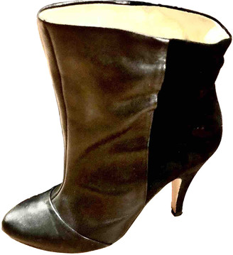 Pierre Cardin Black Leather Ankle boots