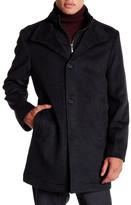 Ike Behar Wheldon Stand-Up Coat