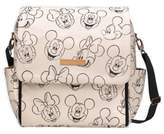 Petunia Pickle Bottom Boxy Backpack Diaper Bag in Sketchbook Mickey & Minnie