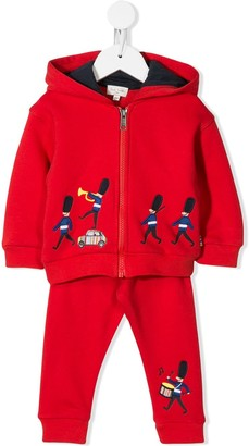 Paul Smith Parade Embroidered Two-Piece Tracksuit Set