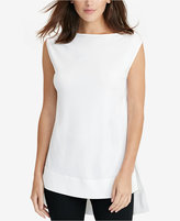 Lauren Ralph Lauren Sleeveless Jersey Top