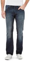 Voi Blue Stonewash Straight Fit Jeans