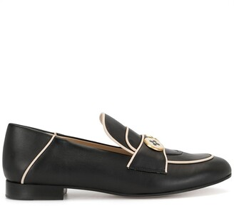 Ports 1961 Two Button Flat Loafers