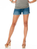 A Pea in the Pod Paige Premium Denim Secret Fit Belly® 5 Pocket Maternity Shorts
