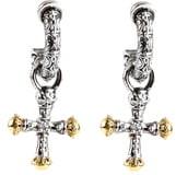 Konstantino Cross Drop Earrings