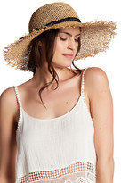 San Diego Hat Company Braided & Laced Floppy Hat
