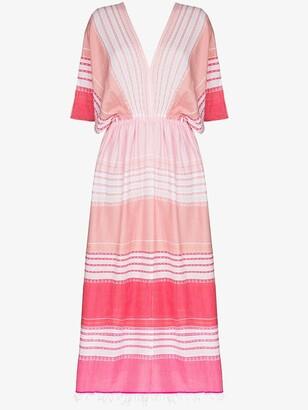 Lemlem Eshal striped kaftan dress