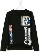 Antony Morato digital print long sleeve shirt