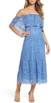 BB Dakota Women's Katie Lace Midi Dress