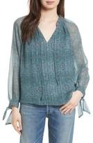 Rebecca Taylor Women's Minnie Floral Silk Top