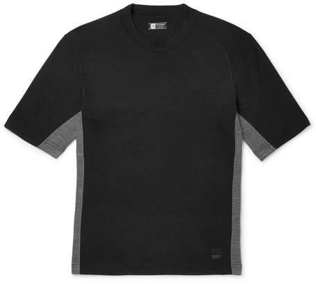 Ermenegildo Zegna Mesh-Panelled Techmerino Wool T-Shirt