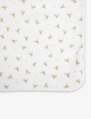 Ralph Lauren Bear-print cotton blanket