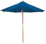 "9"" Wooden Market Umbrella"