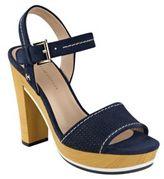 Tommy Hilfiger Weslee Leather Platform Sandals