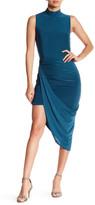 Missguided Asymmetrical Drape Hem Body-Con Dress