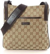 Gucci Pre-Owned GG Monogram Crossbody Bag With Adjustable Strap