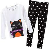 Carter's kitty pajama set - baby