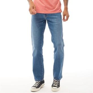 Wrangler Mens Texas Lightweight Stretch Jeans Blazing Blue