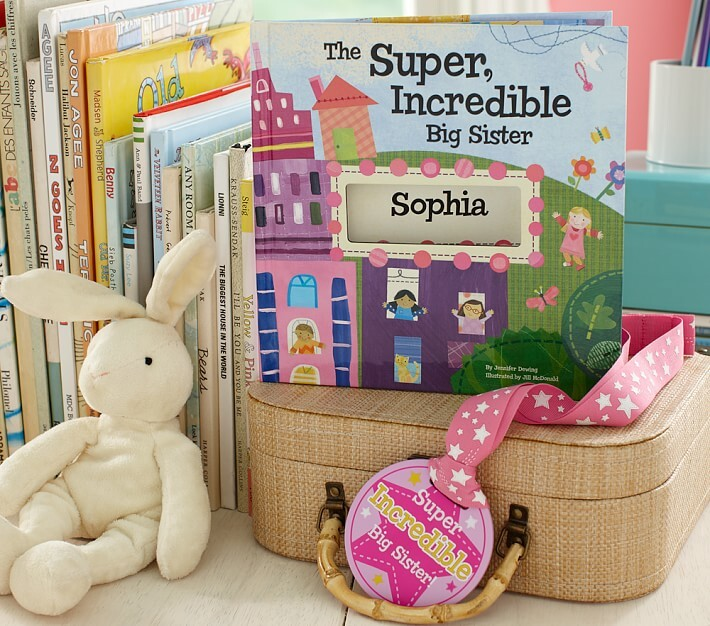 Thumbnail for your product : Pottery Barn Kids The Super, Incredible Big Sister Personalized Book