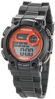 Freegun Boy's Quartz Watch with Orange Dial Digital Display and Plastic anthracite - EE5179