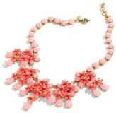 J.Crew Women's Floral Cascade Necklace