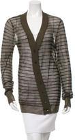 A.L.C. Wool Striped Cardigan