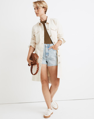 Madewell Long Belted Chore Coat